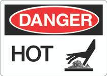 Danger Sign - Hot V2