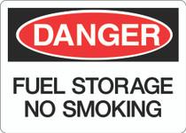 Danger Sign -  Fuel Storage No Smoking