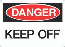 Danger Sign -Keep Off