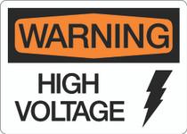 Warning - High Voltage V2
