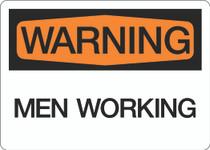 Warning - Men Working