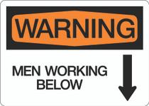 Warning - Men Working Below