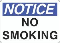 Notice Sign -  No Smoking