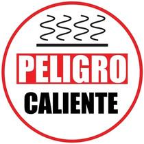Danger Hot Floor Sign (Spanish)