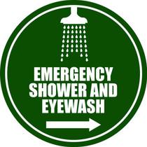 Emergency Shower/Eyewash - R Arrow