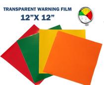 Transparent Warning Film
