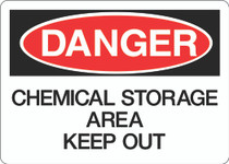 Danger Sign - Chemical Storage Area Keep Out