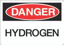 Danger Sign - Hydrogen