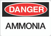 Danger Sign - Ammonia