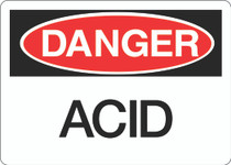 Danger Sign - Acid