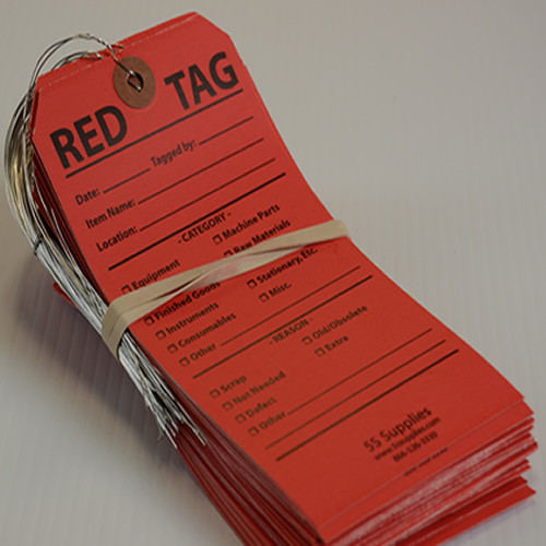 5S Red Tags (Wired)