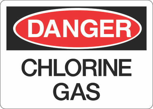 Danger Sign - Chlorine Gas
