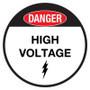 Danger - High Voltage - Floor Sign