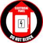 Elec. Panel - Do Not Block