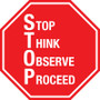 Stop Sign - S.T.O.P.