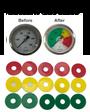 Custom Size Gauge Film Circles (5 Pack)