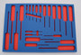 """Tool Box Foam Kit - Fits Husky 46"""" X 24.5"""" (9 Drawer) Model # HOTC4609 Series"""
