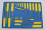 """Tool Box Foam Kit - Fits Husky 52"""" x 15"""" (15 Drawer) Model # H52CH6TR9HD Series"""