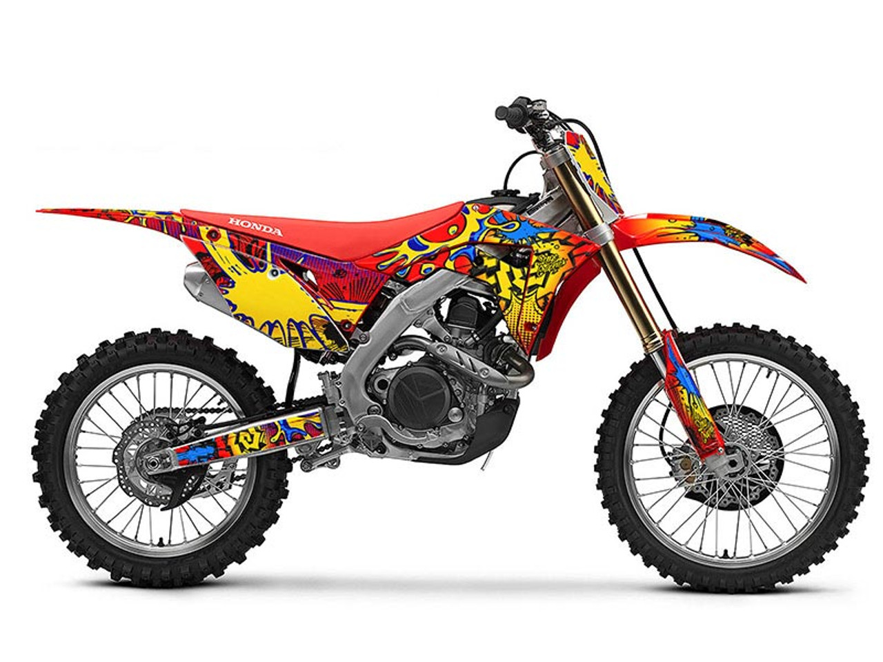 ZANY Graphics Kit for CRF 150R