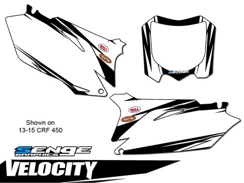 VELOCITY BLACK MX NUMBER BACKGROUNDS