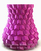 Curved honeycomb vase, by eggnot