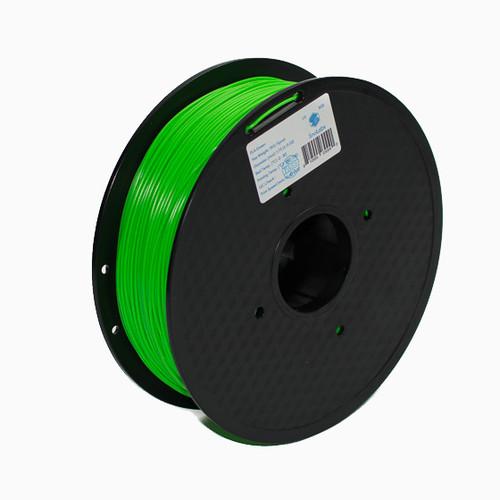 A 1KG spool of SnoLabs Green PLA (1.75mm)