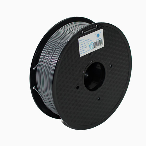 A 1KG spool of SnoLabs Silver PLA (1.75mm)