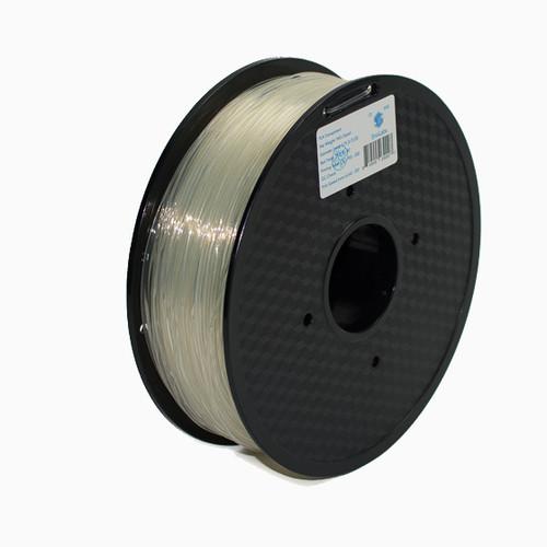 A 1KG spool of SnoLabs Transparent PLA (1.75mm)
