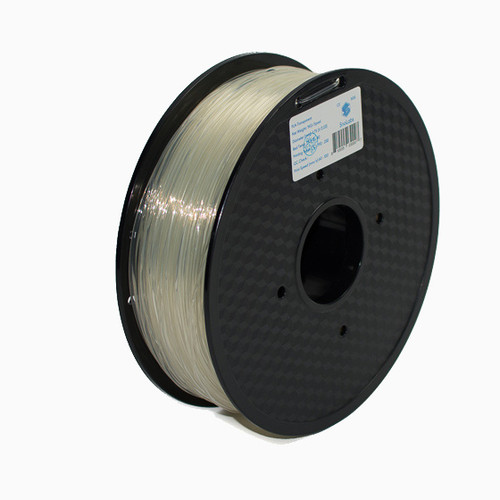 A 1KG spool of SnoLabs Transparent PLA (1.75mm)