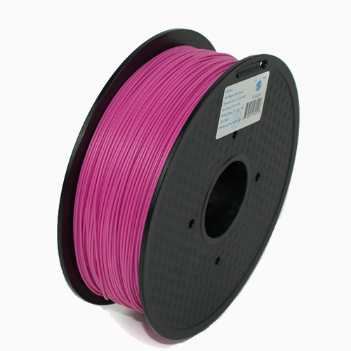 A 1KG spool of SnoLabs Pink PLA (1.75mm)
