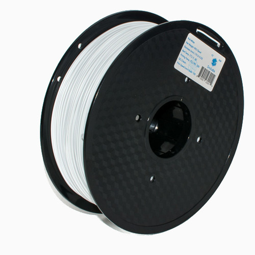 A 1KG spool of SnoLabs White PLA (1.75mm)