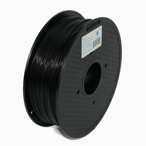 A 1KG spool of SnoLabs Black PETG (1.75mm)