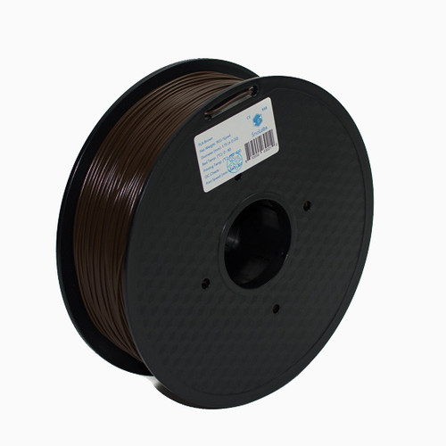 A 1KG spool of SnoLabs Brown ABS (1.75mm)