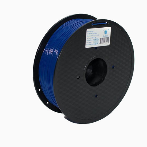 A 1KG spool of SnoLabs Dark Blue ABS (1.75mm)