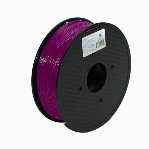 A 1KG spool of SnoLabs Purple ABS (1.75mm)
