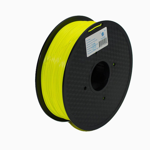A 1KG spool of SnoLabs Yellow PETG (1.75mm)