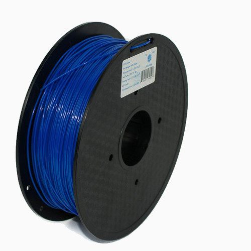 SnoLabs Blue roll of filament.