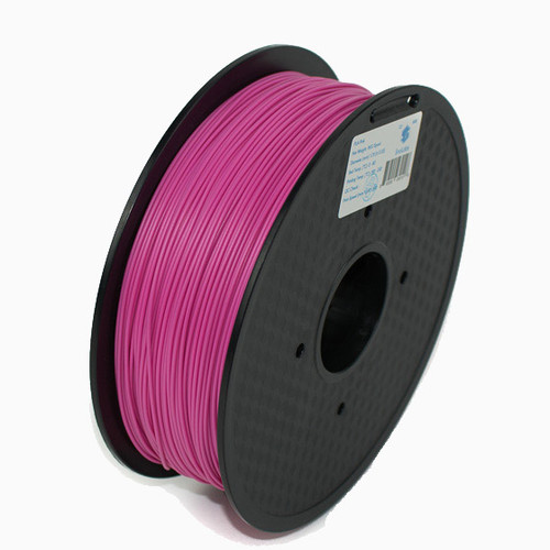 A 1KG spool of SnoLabs Pink PLA+ (1.75mm)