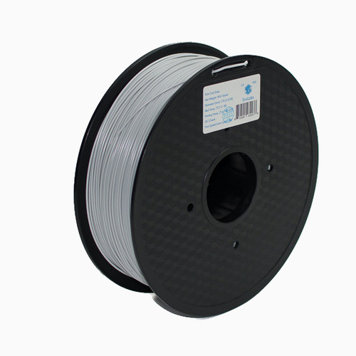 A 1KG spool of SnoLabs Cool Grey PLA+ (1.75mm)