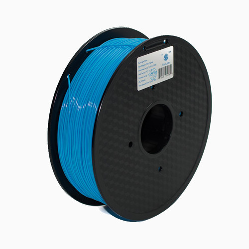 A 1KG spool of SnoLabs Light Blue PLA+ (1.75mm)