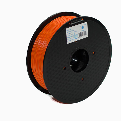 A 1KG spool of SnoLabs Orange PLA+ (1.75mm)