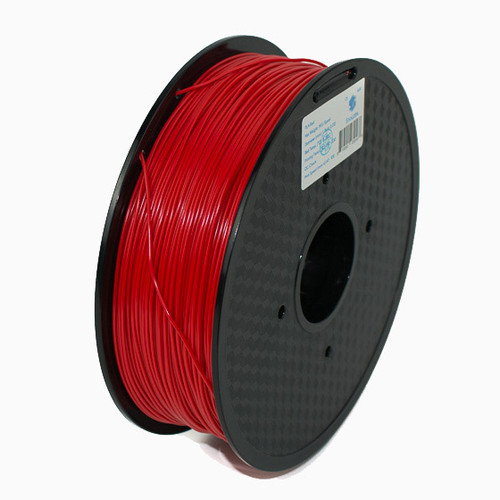 A 1KG spool of SnoLabs Red PLA+ (1.75mm)