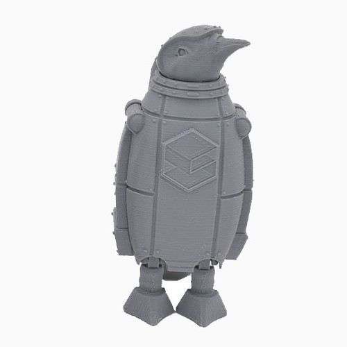 Grey SnoLabs Penguin!