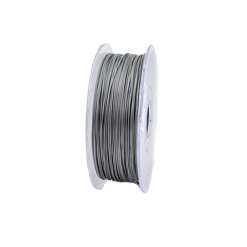 A 1kg roll of silver petg.