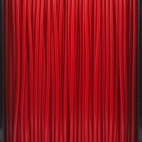 A close up of our Red Filaments.