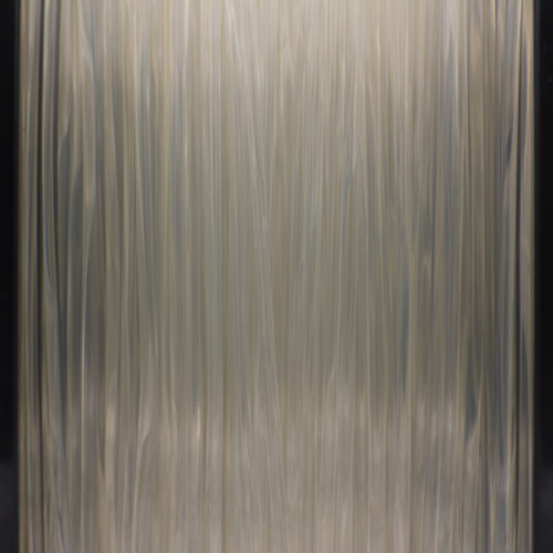 A close up of our transparent Filaments.