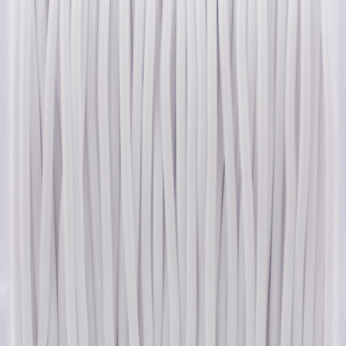 A close up of our white filaments.
