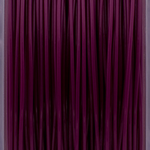 A close up of our royal purple filaments.