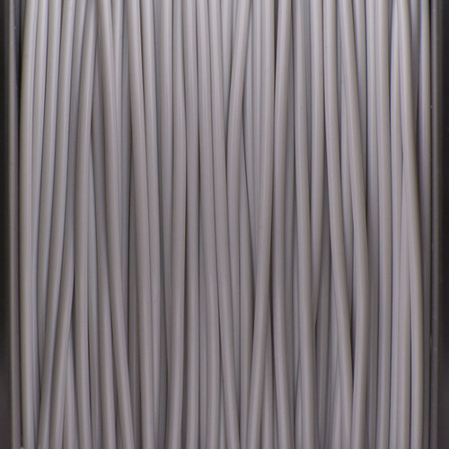 A close up of our cool grey filaments.