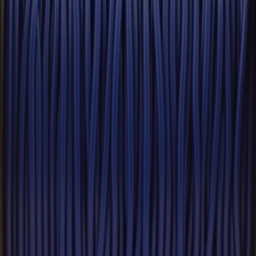 A close up of our dark blue filaments.